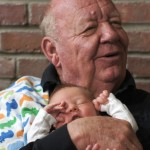 Jerry with youngest grandson